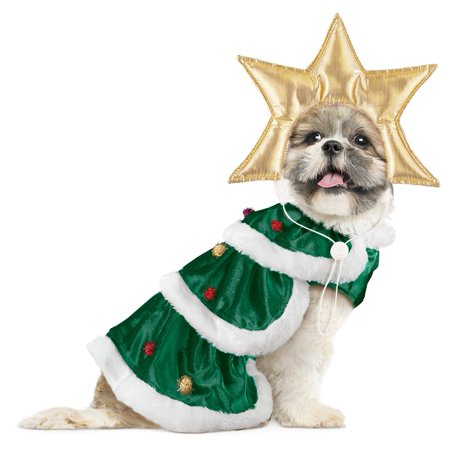 Christmas Tree Dog Christmas Outfit, Medium for $<!---->