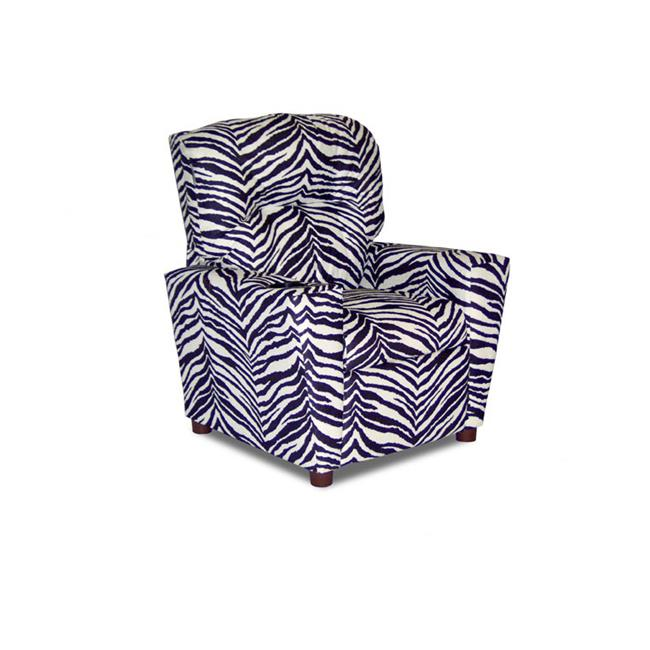 Dozydotes 12056 Child Recliner with Cup Holder - Zebra