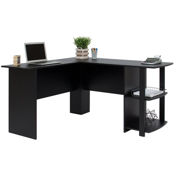 Best Choice Products L Shaped Corner Computer Office Desk