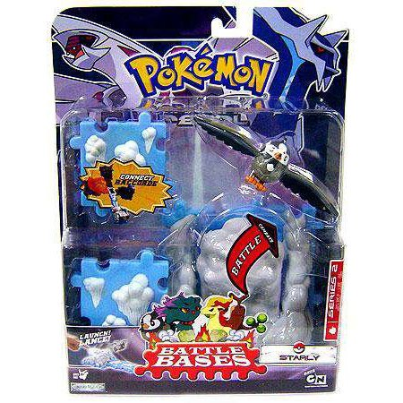 pokemon diamond pearl deluxe battle bases series 2 starly by