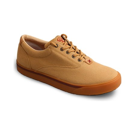Twisted X Men's Hooey Lopers By Beige Canvas Casual Shoes - Mhyc003 ()