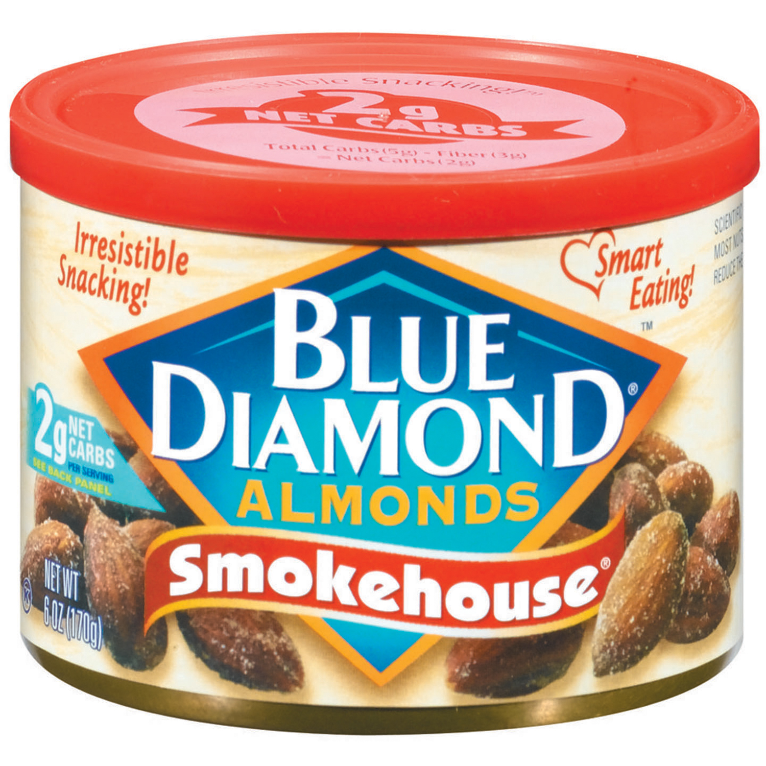 Blue Diamond�� Smokehouse Almonds 6 oz. Canister