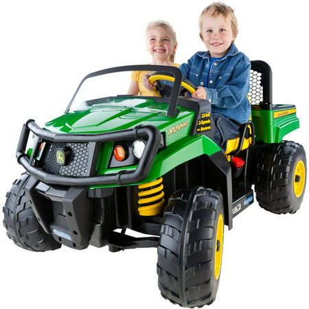 Peg Perego John Deere Gator XUV 12-volt Battery-Powered - Fire Truck For Kids To Ride