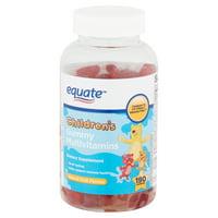 Equate Children's Multivitamins Gummies, 190 count