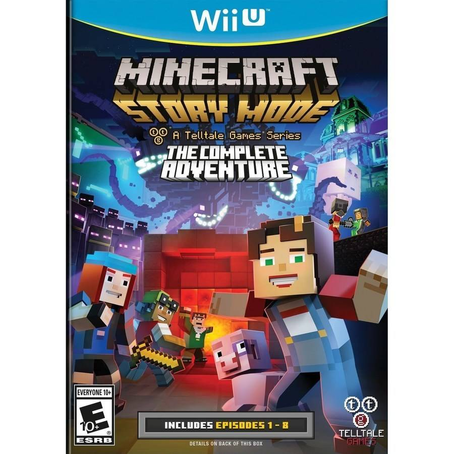 Telltale Games Minecraft Story Mode The Complete Adventure(Wii U)