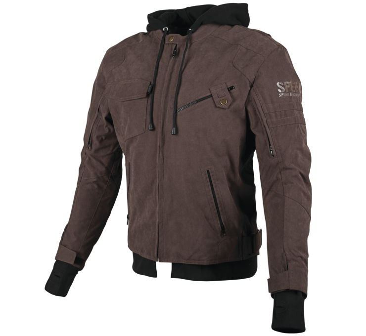 Speed & Strength Off The Chain 2.0 Mens Textile Jacket Brown