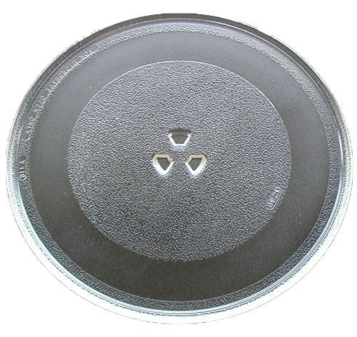 12 3//4 Dia Microwave Glass Turntable Plate Whirlpool - 4358641