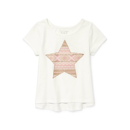 Short Sleeve Graphic T-Shirt (Toddler Girls)
