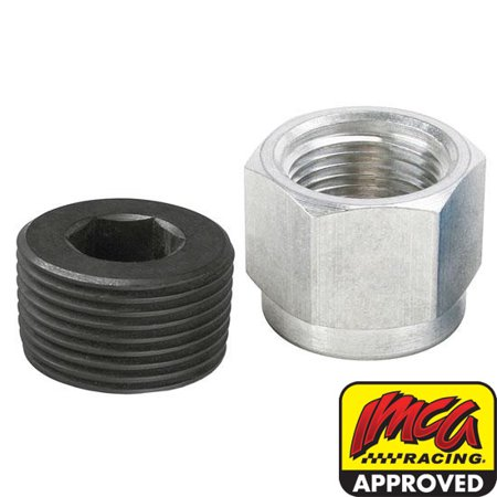 Aluminum Oil Pan Inspection Plug, 1 Inch - Timing Inspection Plug