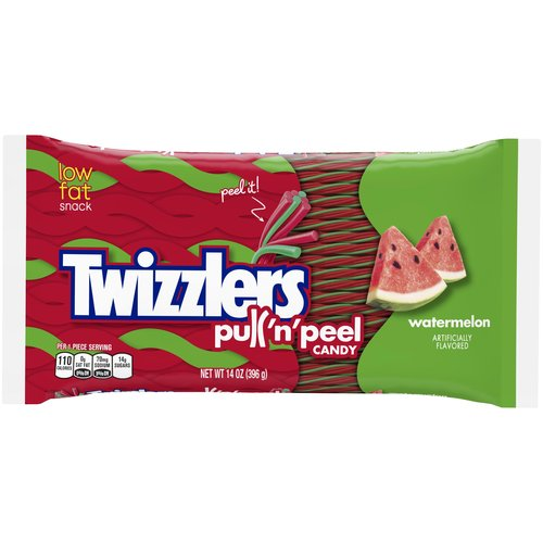 Twizzlers Pull 'n' Peel Watermelon Candy, 14 oz