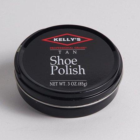 FIEBING'S KELLY PROFESSIONAL PASTE HARD WAX SHOE SHINE POLISH ALL COLORS 3OZ Shoe Paste Wax