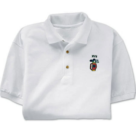 Personalized embroidered golf polo shirt for Personalised embroidered polo shirts