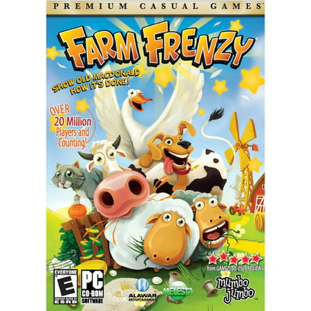 FARM FRENZY PC Game - Show Old MacDonald how its -
