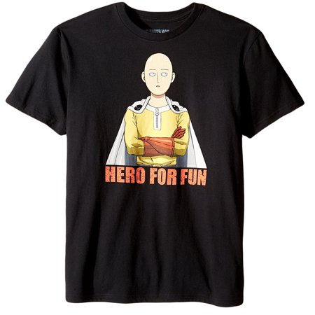 One Punch Man Hero For Fun Adult T-Shirt](Hero Punch)