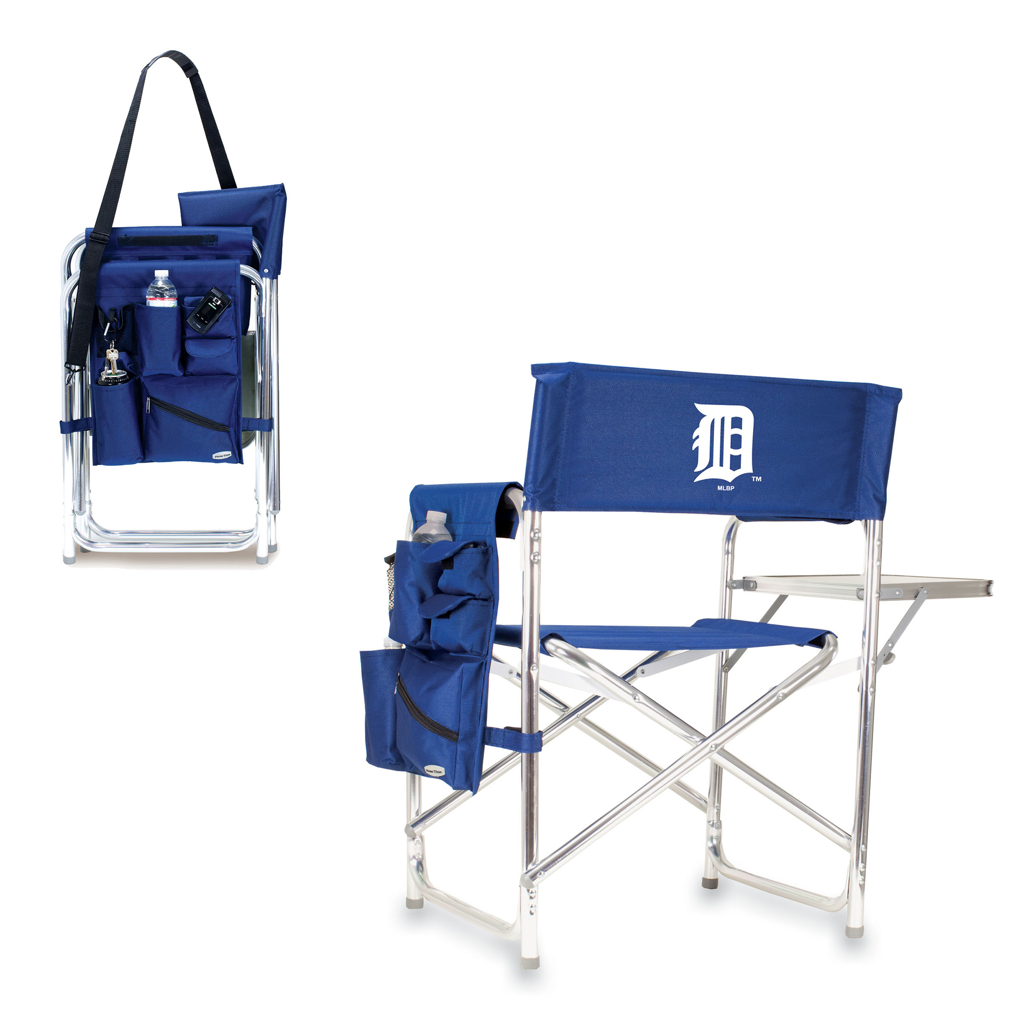 Detroit Tigers Sports Chair - Navy - No Size