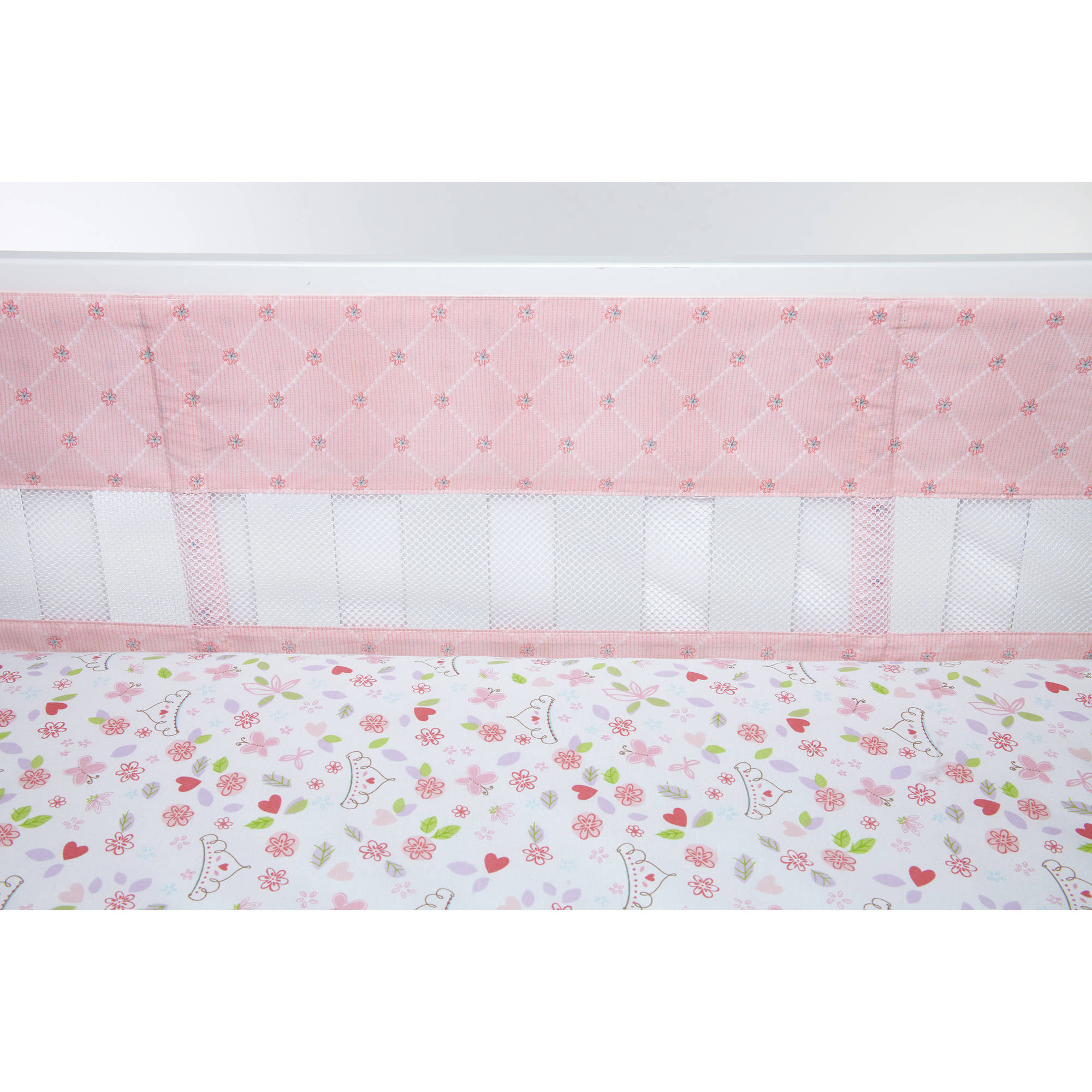 Disney Happily Ever After Secure-Me Crib Liner