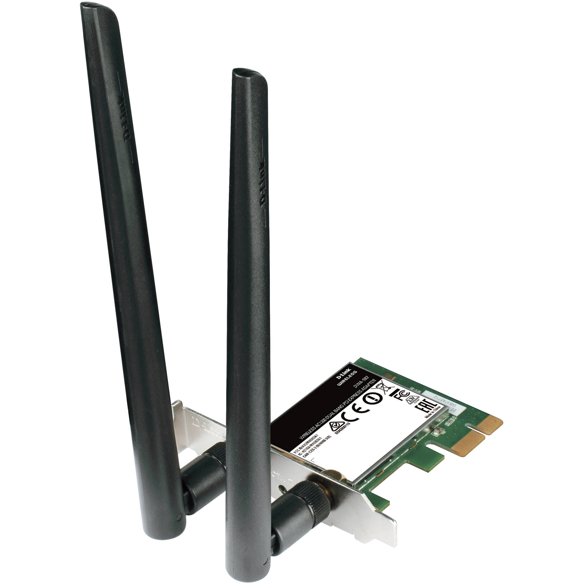D-Link DWA-582 AC1200 WiFi PCI Express Adapter