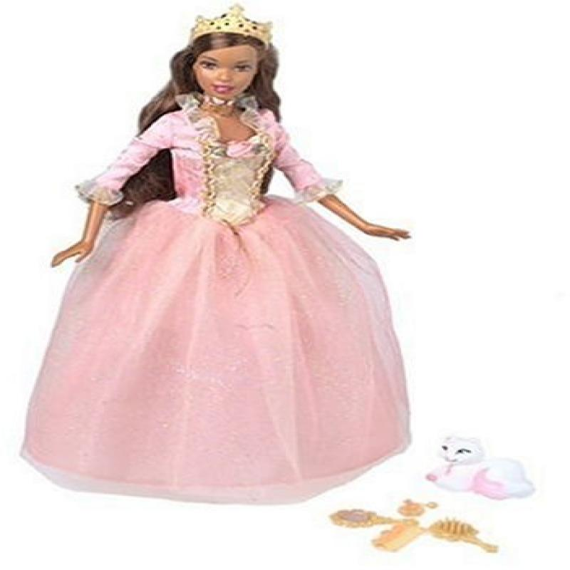 Barbie as the Princess and the Pauper Princess Anneliese African American Doll by