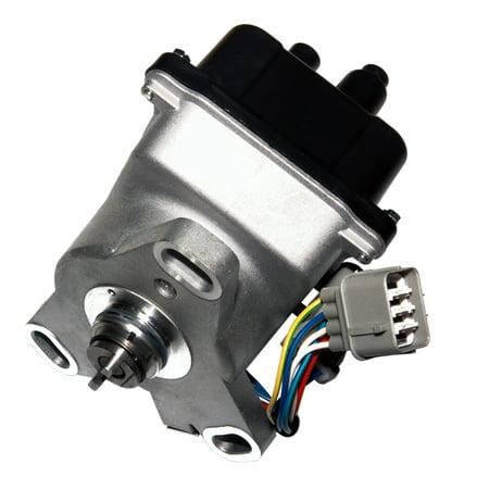 Brand New Compatible Ignition Distributor w/ Cap & Rotor TD-44U TD-68U for 92-95 L4 1.7L 1.8L 1.6L Integra Del Sol Honda Acura Integra OBD1 B16A2 B17A1 B18C1