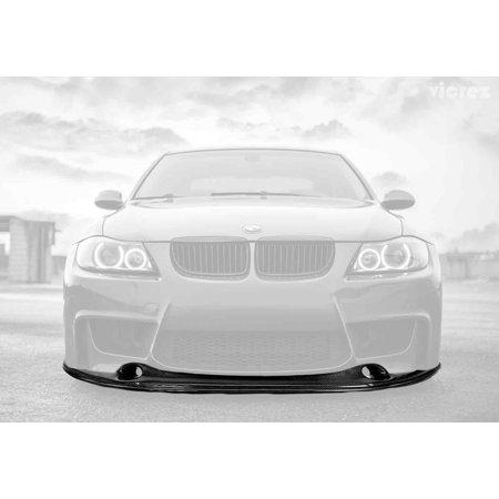 - Vicrez BMW 3 series E90 LCI 2005-2012 1m Bumper Style Carbon Fiber Front Lip vz100562