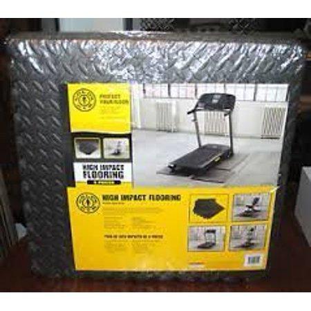 Gold's Gym High Impact 6 pc. Puzzle Flooring by Golds