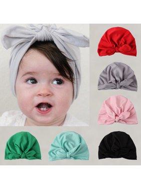SUNSIOM Fashion Newborn Toddler Kids Baby Boy Girl Turban Cotton Beanie Hat Winter Cap