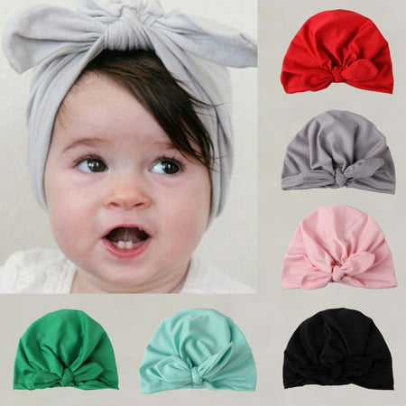 Fashion Newborn Toddler Kids Baby Boy Girl Turban Cotton Beanie Hat Winter (Cotton Winter Beanie)