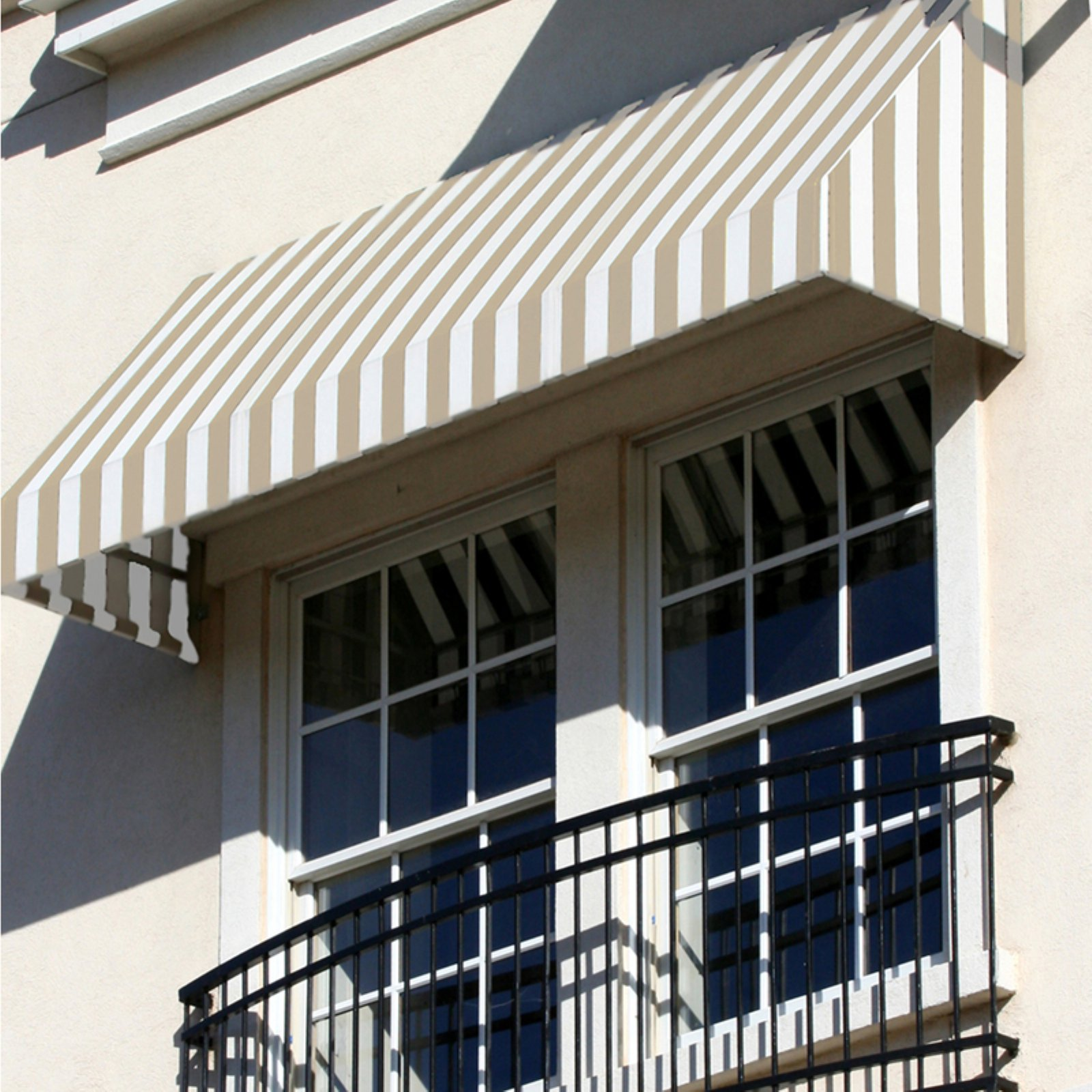 Awntech Beauty-Mark New Yorker 4 ft. Window/Door Awning