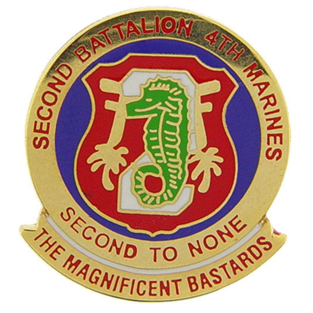 U.S.M.C. 2nd Battalion 4th Marines Pin 1