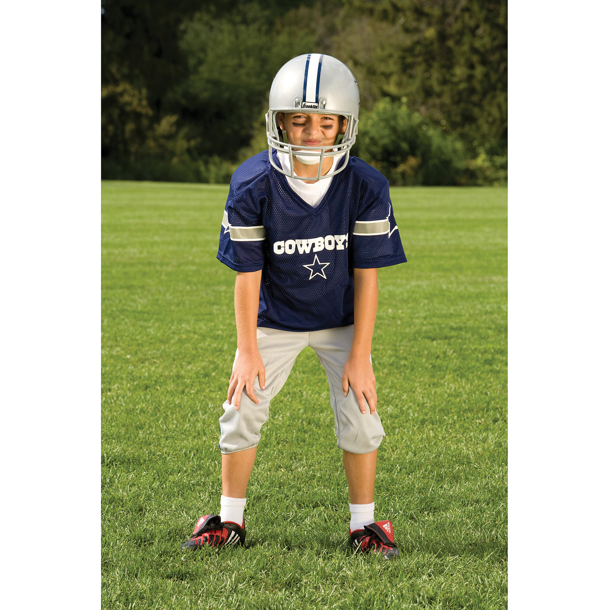 8195bc42 Franklin Sports NFL Dallas Cowboys Deluxe Uniform Set
