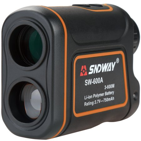 Golf Rangefinder 656 Yards 8X Magnification IP54 Waterproof, Rechargeable Laser Rangefinder Laser