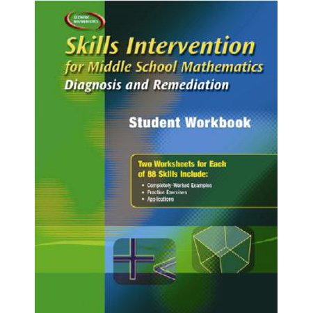 Skills Intervention for Middle School Mathematics: Diagnosis and Remediation, Student Workbook](Halloween Math Game Middle School)