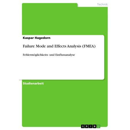 Failure Mode and Effects Analysis (FMEA) - eBook (Potential Failure Mode And Effects Analysis Reference Manual)