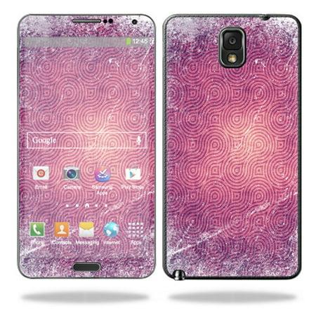 Mightyskins Protective Vinyl Skin Decal Cover for Samsung Galaxy Note 3 III N9000 wrap sticker skins Purple - Purple Swirl