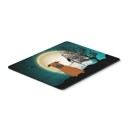 Halloween Scary Chinese Chongqing Dog Mouse Pad, Hot Pad or Trivet BB2301MP](Halloween Name For Hot Dogs)
