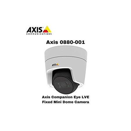 Network Camera Outdoor Enclosure - Axis Companion Eye LVE 2MP Vandal-Resistant Outdoor Network Turret Camera