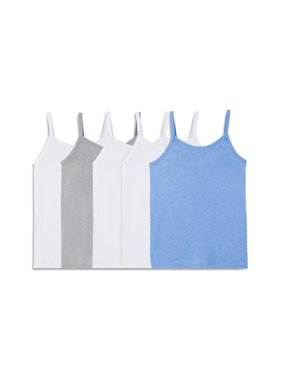 Girls Assorted Cami 5 Pack
