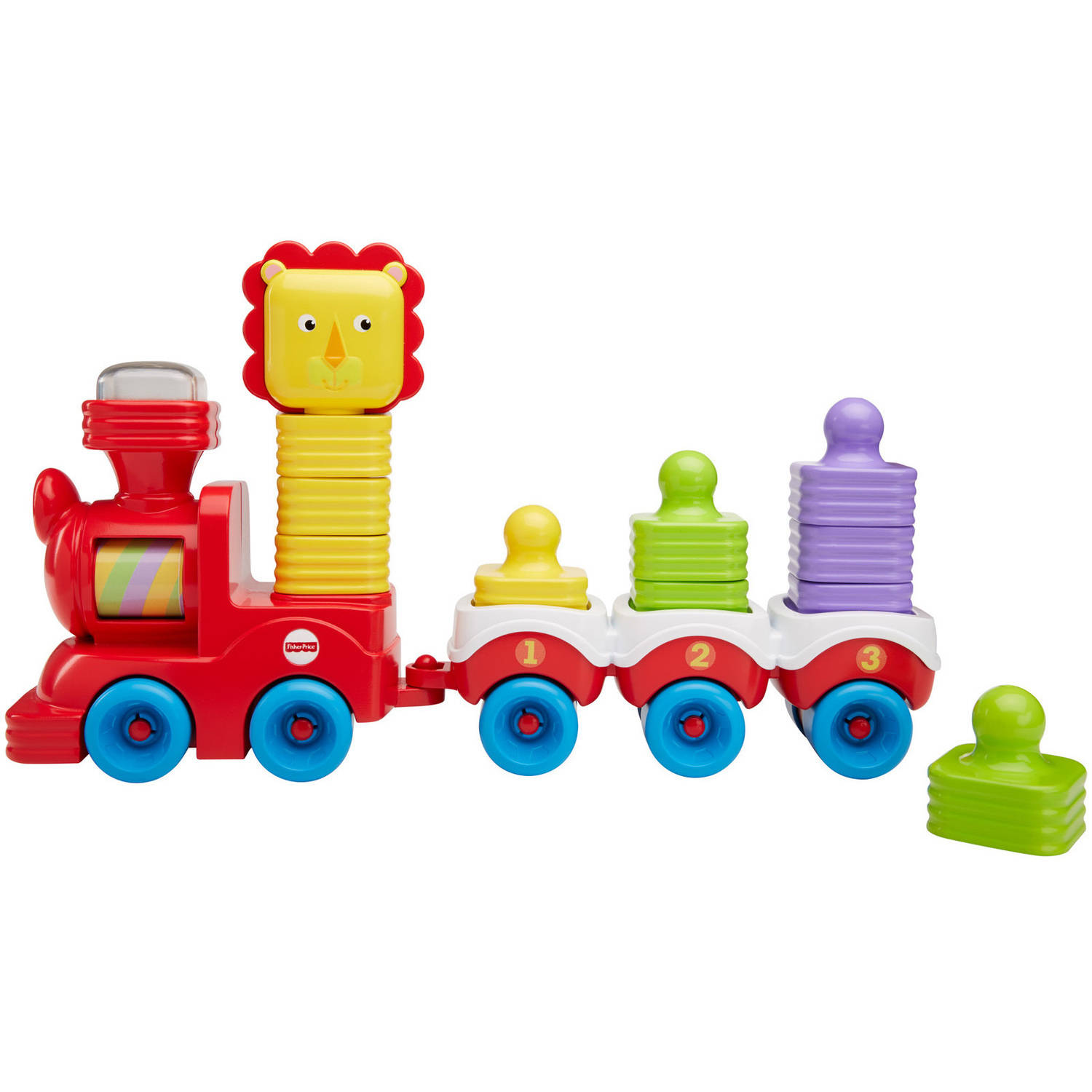 Fisher Price Little Stackers Lion Locomotive by FISHER PRICE