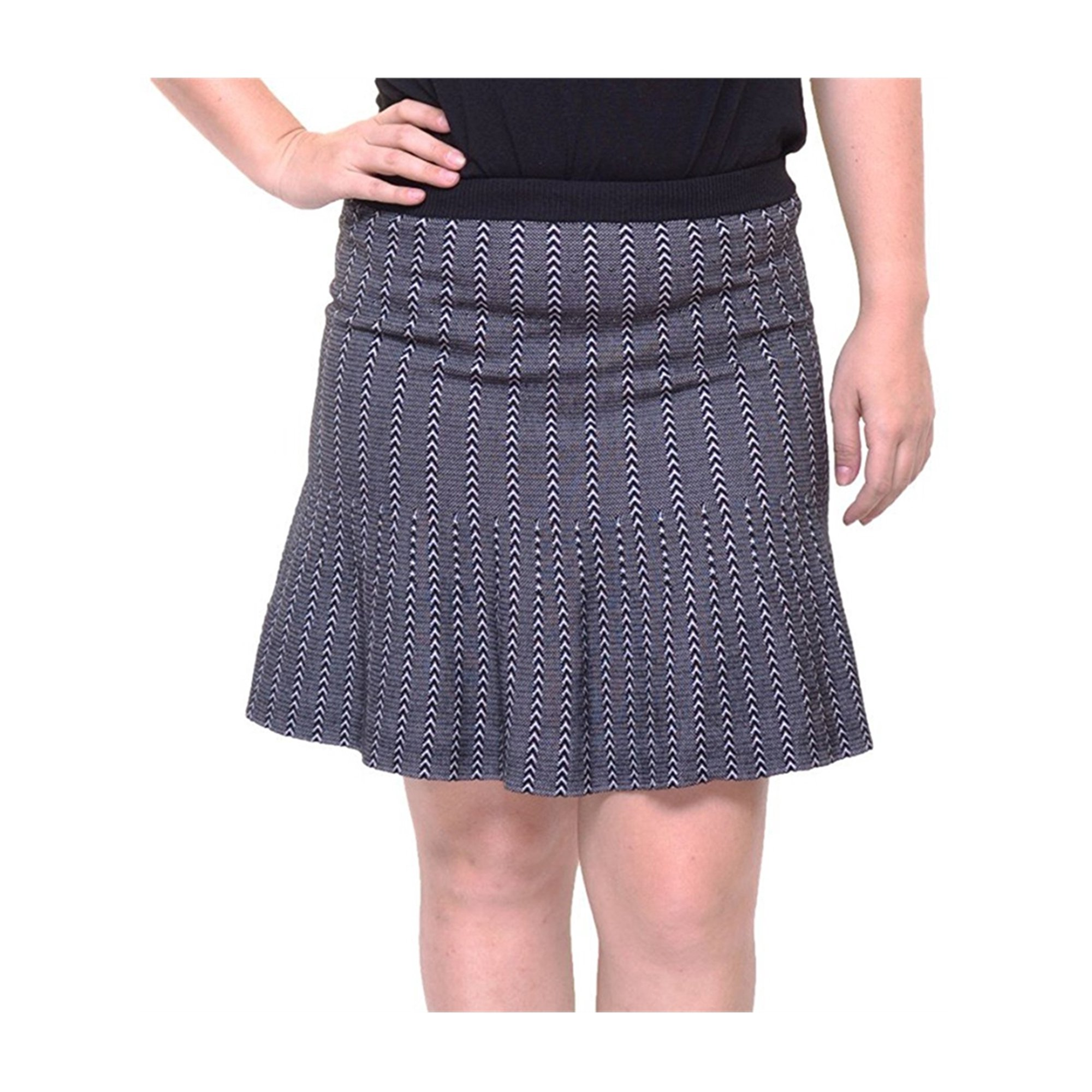 061b617607d8 Rachel Roy Womens Striped A-line Skirt blackwhite S | Walmart Canada