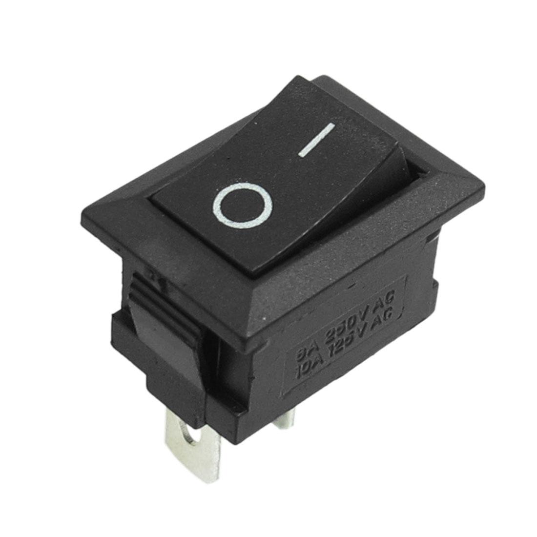 Electric Tool AC 250V 6A / AC 125V 10A SPST O/I 2-Position Rocker Switch