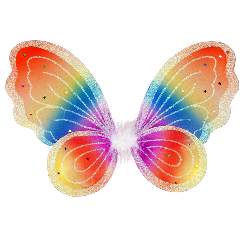 Rainbow Butterfly Wings - Child Size