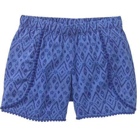 9f822c4ad84d6 365 Kids From Garanimals - Girls' Print Pom Pom Shorts - Walmart.com