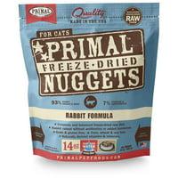 Rabbit Formula Grain-Free Freeze-Dried Cat Food, 14 oz