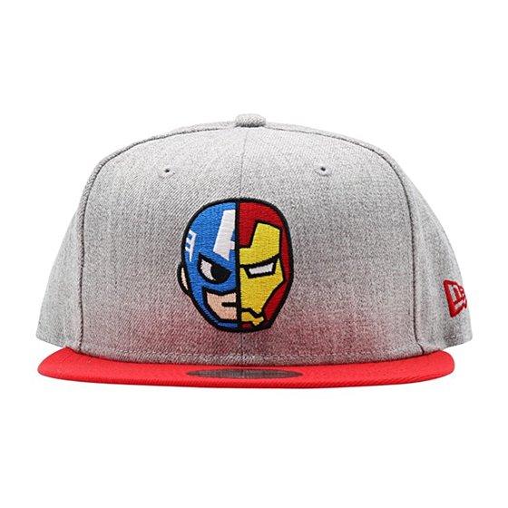 d9aba387045 Tokidoki - Tokidoki Marvel Captain America Iron Man Half And Half ...