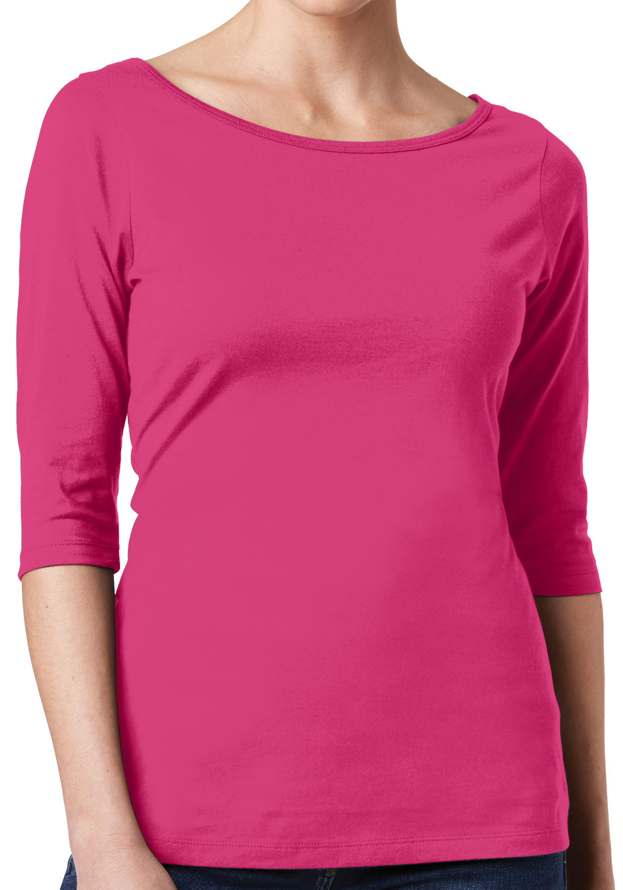 New Fruit of the Loom Womens Small Thermal Shirt Top Black Sm 4-6