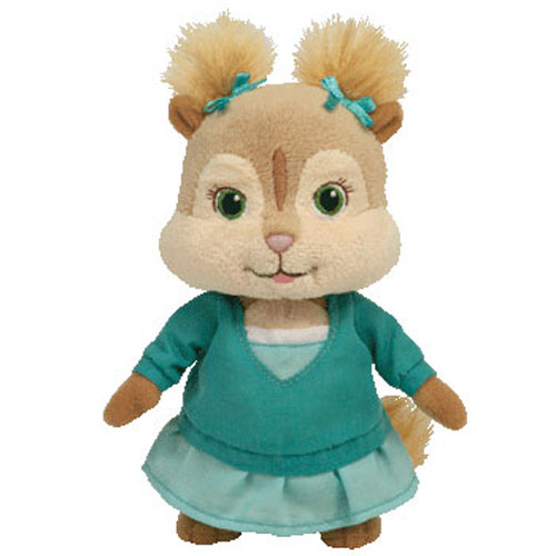 TY Beanie Baby - ELEANOR the Chipette (Alvin & the Chipmunks Movie) (6 inch)