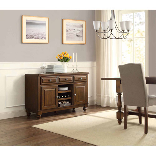 Better Homes and Gardens Providence Dining Buffet Table/Media Console for TVs up to 55""