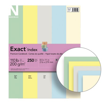 Exact® Index Card Stock, 8 1/2