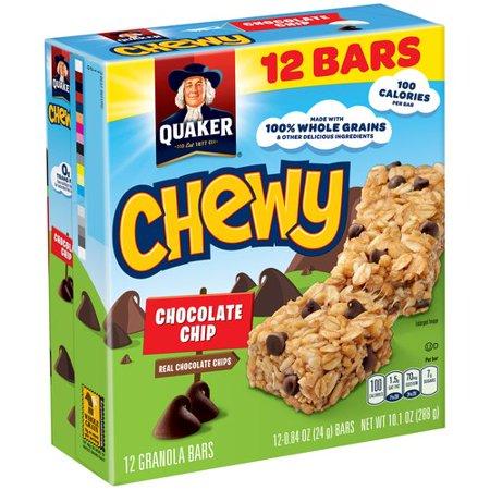 Ingredient Chocolate Chip Granola Bars
