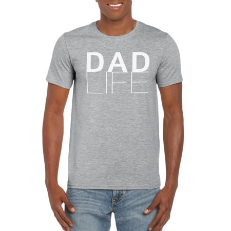 Dad Life T-Shirt Gift Idea for Men - Funny Dad Gag Gift - Family/Husband T-Shirt - 50th Gag Gift Ideas